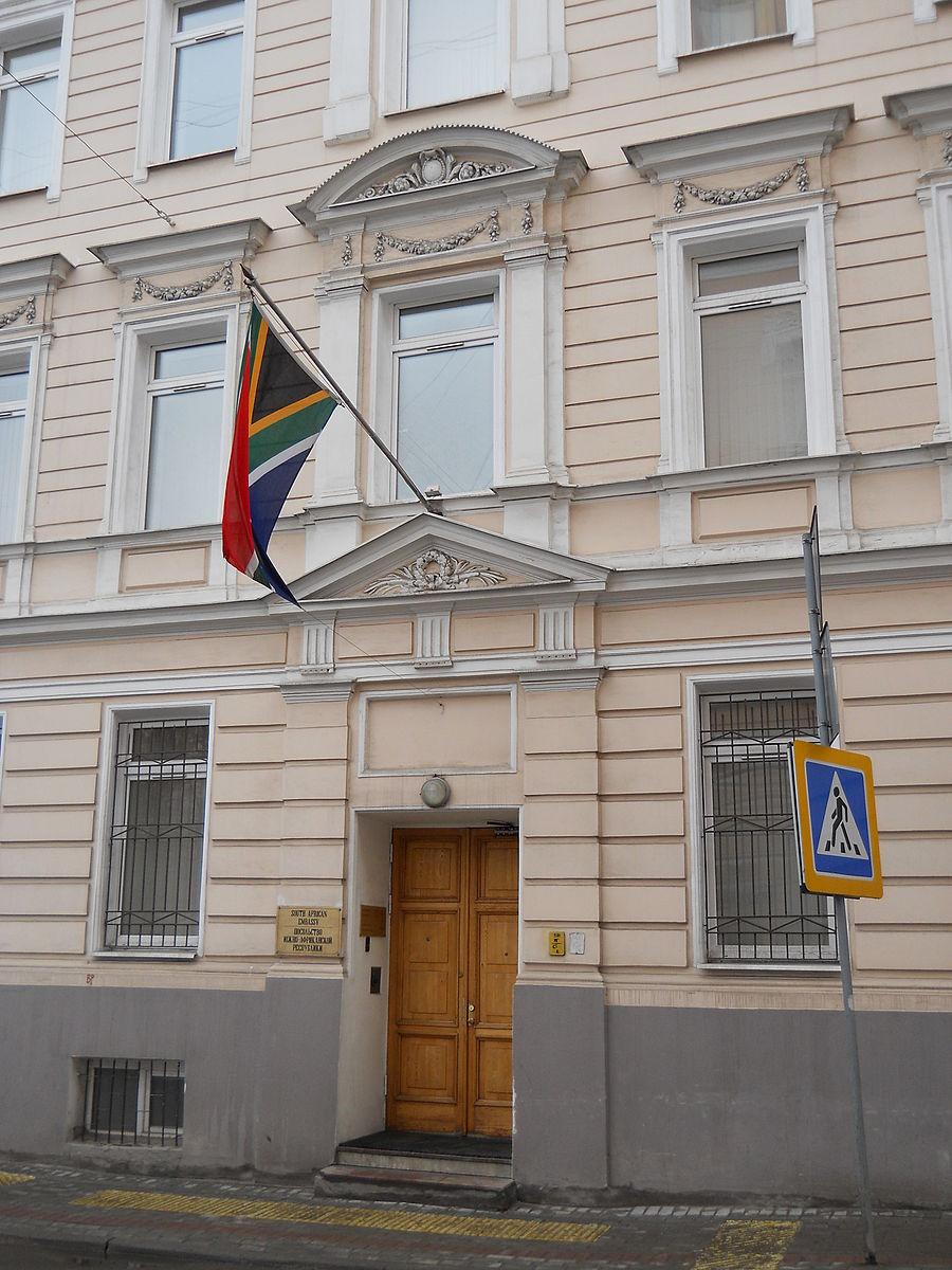 And girl embassy in south africa russian