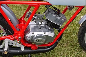 "Minarelli - An engine Minarelli type ""P6"" second series, 50 cc and 6 speed, 1975"