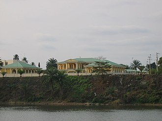 Mouila - The president's residence in Mouila