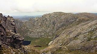 Mount Murchison (Tasmania) mountain in West Coast Range, Western Tasmania, Australia