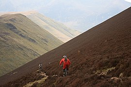 Mountain Bikers Descending From the Scar Crags Ridge into Sail Beck - geograph.org.uk - 771385.jpg