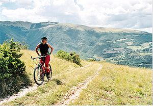 Mountain bike ParcoSibillini.jpg