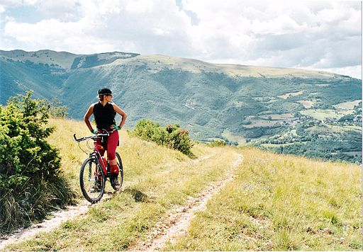 Mountain bike ParcoSibillini