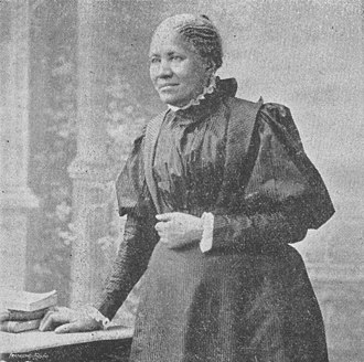 "Free produce movement - Frances Ellen Watkins Harper supported the free produce movement, regularly saying she would pay more for a ""Free Labor"" dress"