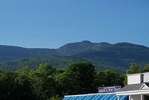 Mount Moriah (New Hampshire) - Mt. Moriah (center) from Gorham