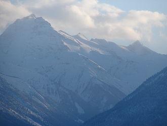 Mount Stanley Baldwin - Image: Mt. Stanley Baldwin