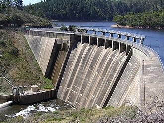 Mount Bold Reservoir - Image: Mt Bold Reservoir Dam
