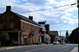 Mount Jackson Historic District United States historic place
