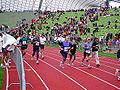 Muenchen marathon 2004 zieleinlauf.jpg