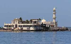 Mumbai - The Haji Ali Dargah was built in 1431, when Mumbai was under the rule of the Gujarat Sultanate