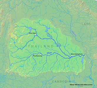 Mun River - Image: Munrivermap