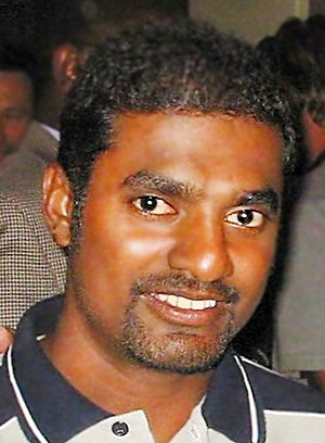 Photograph of Muralithran taken in 2004