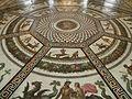 Musée de l'Ermitage - intérieur - pavillon du petit Ermitage - mosaïque.jpg