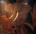 Musée du quai Branly Peintures des lointains Jean Dunand Eléphant 1942 03012019 6268.jpg