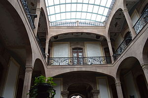 Museo Nacional de la Máscara - View of the interior patio