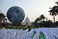 Museum Of The Moon Installation - Victoria Memorial Hall - Kolkata 2018-02-17 1313.JPG