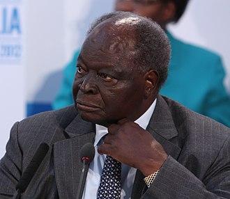 Mwai Kibaki - Image: Mwai Kibaki (cropped)