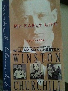 <i>My Early Life</i> literary work