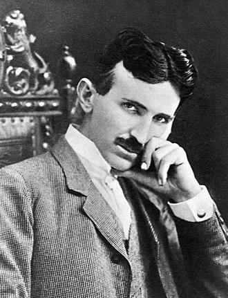 Nikola Tesla - Image: N.Tesla