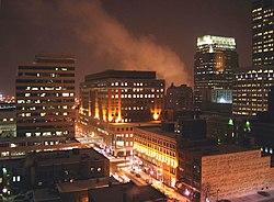 Minneapolis nocą