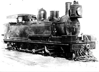 South African Class A 4-8-2T - Image: NGR Class D 4 8 2T no. 72