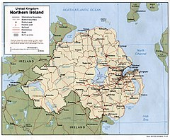 Severne Irsko Wikiwand
