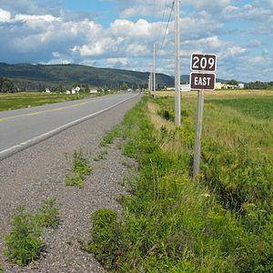 Nova Scotia Route 209 - Route 209