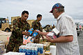 NZ Army Engineers distribute water at New Brighton Beach after Christchurch Earthquake - Flickr - NZ Defence Force.jpg