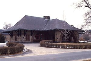 Henry Hobson Richardson -  The Old Colony station illustrates Richardson's use of Japanese architectural concepts.