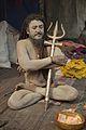 Naga Sadhu - Gangasagar Fair Transit Camp - Kolkata 2013-01-12 2814.JPG