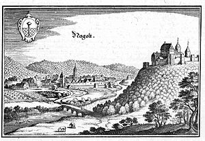 Hohennagold Castle - Hohennagold Castle in the first half of the 17th century