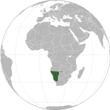 Description de l'image  Namibia (orthographic projection).svg.