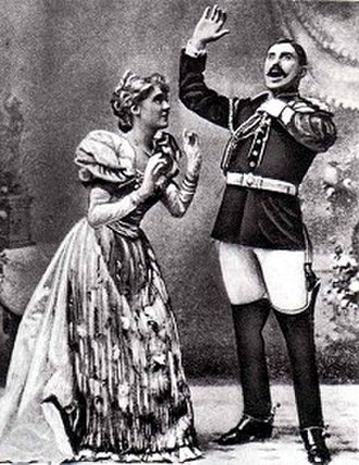 Nancy McIntosh - with Charles Kenningham in Utopia, Limited