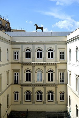 Museo d'Arte Contemporanea Donnaregina - Image: Naples Madre cour int