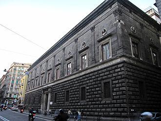 Palazzo Orsini di Gravina - The façade of palace Orsini di Gravina.