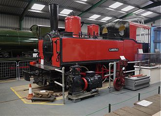 Waltham Iron Ore Tramway - Surviving Waltham locomotive Cambrai