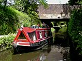 Narrowboat in Marsh Lane Narrows, Wolverhampton - geograph.org.uk - 1346515.jpg