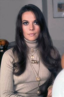 Natalie Wood a Londres l'any (1973)