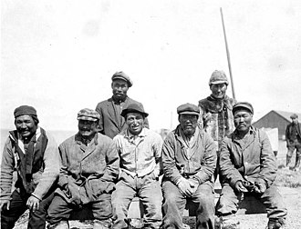 Nushagak, Alaska - Indigenous Alaskans in Nushagak, 1917