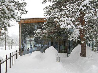 Fulufjället National Park - The visitor center of Fulufjället National Park