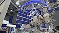 "Nauka (ISS module) with airlock module layout during the ""Armiya 2021"" exhibition.jpg"