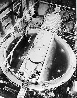 Idaho National Laboratory - Prototype of core for USS Nautilus (SSN-571)