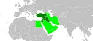 Représentations du terme Proche-Orient.