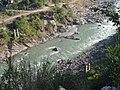 Neelam River with sunshine.jpg