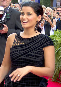 Nelly Furtado podczas ceremoni Walk of Fame w roku 2010