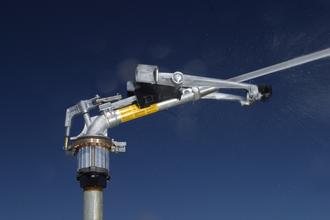 Nozzle - End Gun style pivot applicator sprinkler