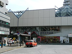 Nerima-Takanodai Station North entrance 200806.JPG