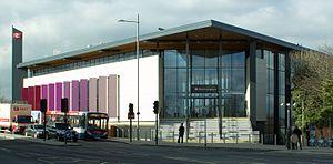 Northampton railway station - Station frontage