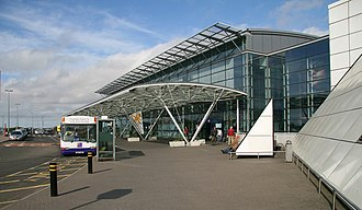 Newcastle Airport - Image: Newcastle International Airport geograph.org.uk 971041
