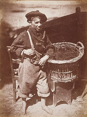 Hill & Adamson - Image: Newhaven boy ('King Fisher' or 'His Faither's Breeks')